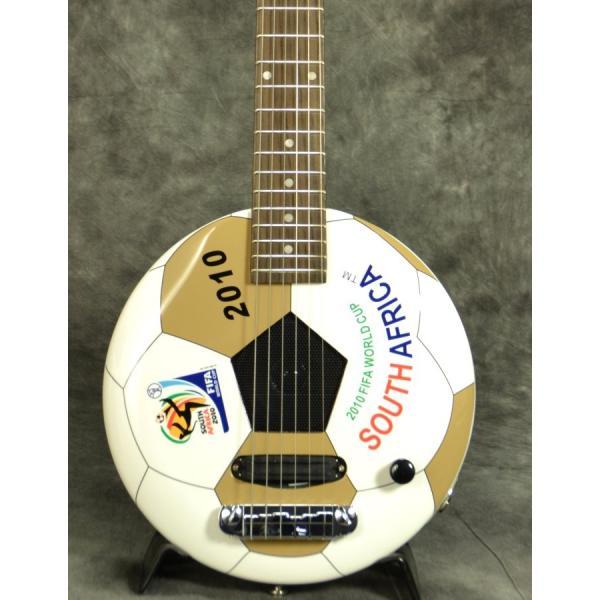 ARIA GOALRUSH GR-2010 サッカーボールギター(アンプ内蔵)FIFA公認(アウトレット処分大特価)(ARIA製交換弦1セットプレゼント!!/+811130600)|ishibashi|04