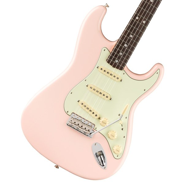 Fender / American Original 60s Stratocaster Rosewood Fingerboard Shell Pink (純正ケーブル&ピック1ダースプレゼント!/+661944400)(WEBSHOP)|ishibashi