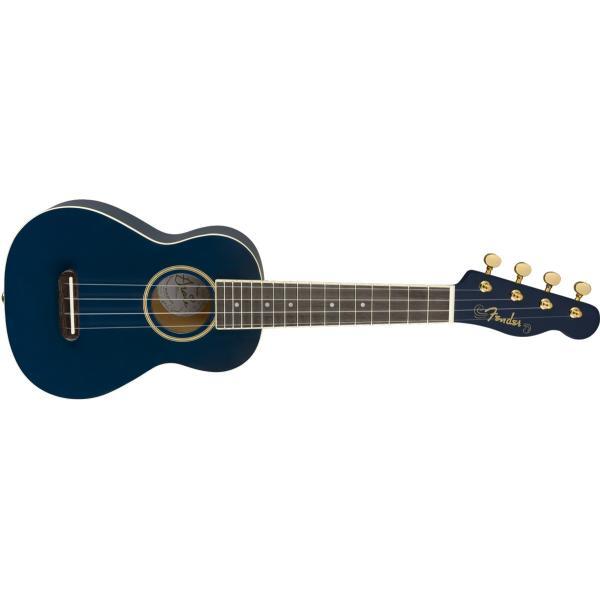 (タイムセール:5月7日12時まで)Fender / Grace VanderWaal Moonlight Ukulele Soprano ソプラノウクレレ (クリップチューナープレゼント!/+621106400)(YRK)|ishibashi|03