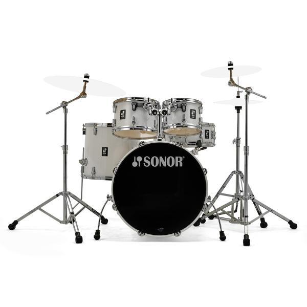 SONOR / SN-AQ1SG #PWピアノホワイト ソナー ドラムセット AQ1 Stage Set 22BD /シンバル別(お取り寄せ商品)