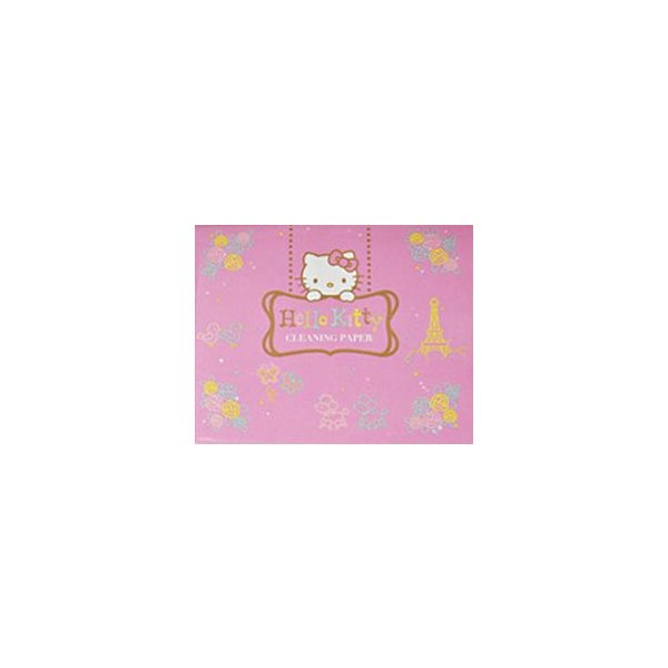 Nonaka / Hello Kitty Cleaning Paper Pink (★お取り寄せ)|ishibashi