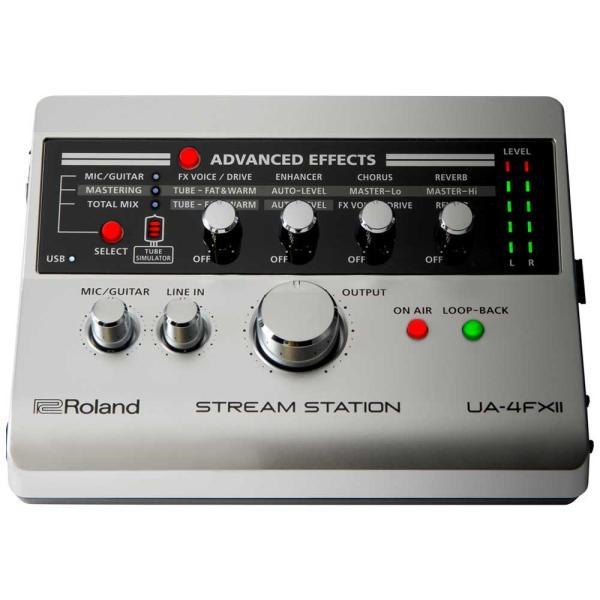 (タイムセール:26日12時まで)Roland ローランド / UA-4 FXII STREAM STATION (開封品特価) USBオーディオインターフェース (UA-4 FX2)(UA-4FX)(YRK) ishibashi