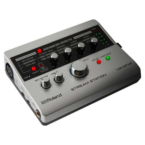 (タイムセール:26日12時まで)Roland ローランド / UA-4 FXII STREAM STATION (開封品特価) USBオーディオインターフェース (UA-4 FX2)(UA-4FX)(YRK) ishibashi 02