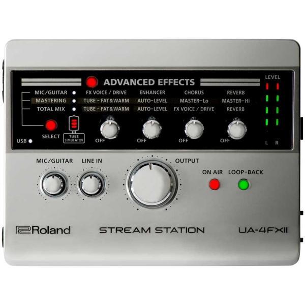 (タイムセール:26日12時まで)Roland ローランド / UA-4 FXII STREAM STATION (開封品特価) USBオーディオインターフェース (UA-4 FX2)(UA-4FX)(YRK) ishibashi 03