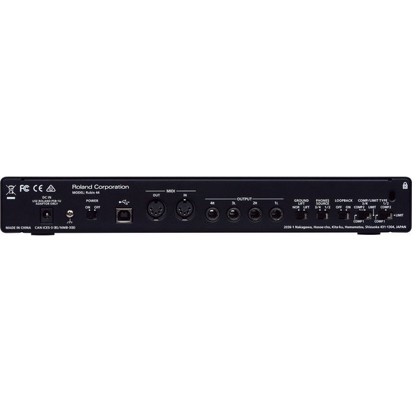 Roland ローランド / Rubix44 USBオーディオ・インターフェース(WEBSHOP)(YRK)|ishibashi|03