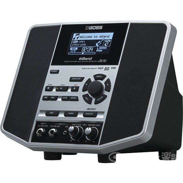 BOSS / eBand JS-10 / AUDIO PLAYER with GUITAR EFFECTS (限定特価)|ishibashi