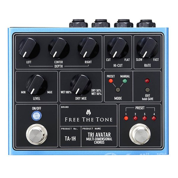 Free the Tone / TRI AVATAR Multi-Dimensional Chorus TA-1H(送料無料)|ishibashi|02