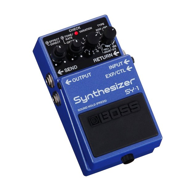 BOSS / SY-1 Synthesizer (予約注文/10月下旬入荷予定)(9Vマンガン電池2個プレゼント/+681215700×2)(WEBSHOP)|ishibashi|02