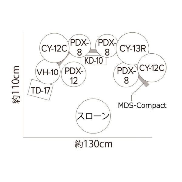 Roland TD-17KVX-S 純正パックDAP-3X / TDM-10 / RH-5 / TAMAハイハットスタンドセット(YRK) ishibashi 07
