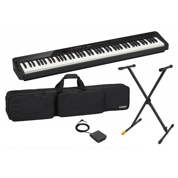 (あすつく365日)CASIO カシオ / PX-S3000BK(純正ケース&スタンドセット)(ブラックカラー) デジタルピアノ