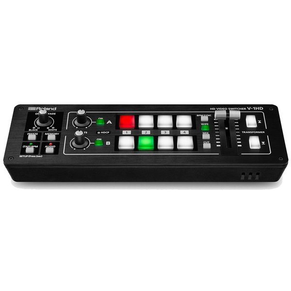 Roland ローランド / V-1HD ビデオスイッチャー(YRK)(PTNB)(特典つき!/+2307117130001)