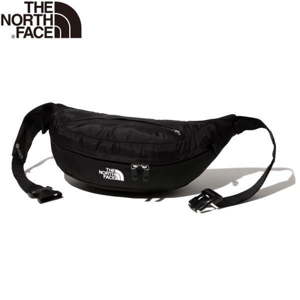 【正規品/即納】THE NORTH FACE ザ・ノースフェイス スウィープ ウェストバッグ 4L ブラック (NM72100) ウエストポーチ サブバッグ サブポーチ ボディバッグ