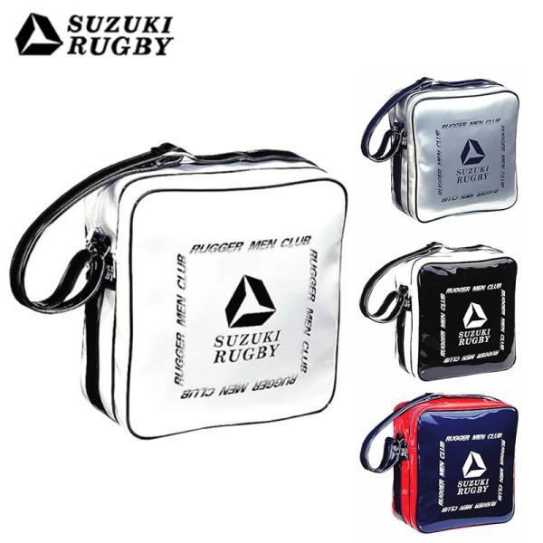 SUZUKI スズキ ショルダーバッグLGM ホワイト×ブラック ブラック×ホワイト ネイビー×スカーレット シルバー×ネイビー (SF-8101 SF-8102 SF-8103 SF-8104)