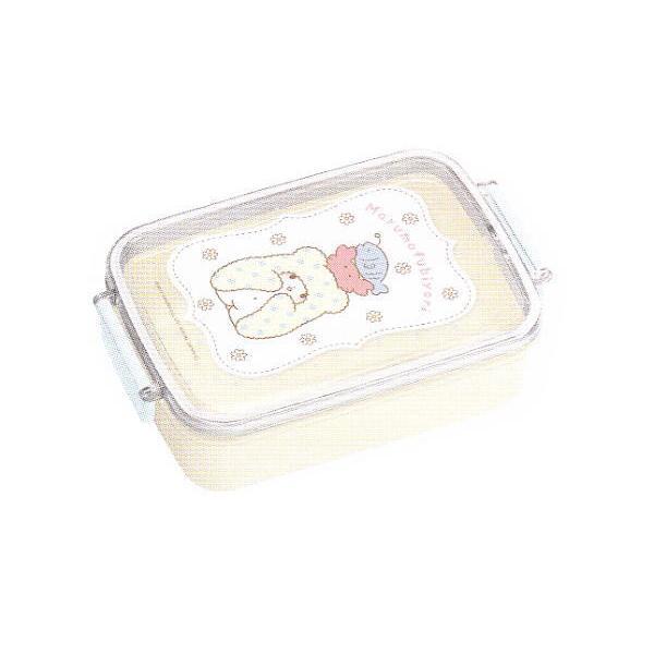 S397172 サンリオ タイトランチボックス角型 まるもふびより  まるもふ  こぐま  白いこぐま  キャラクター  お弁当