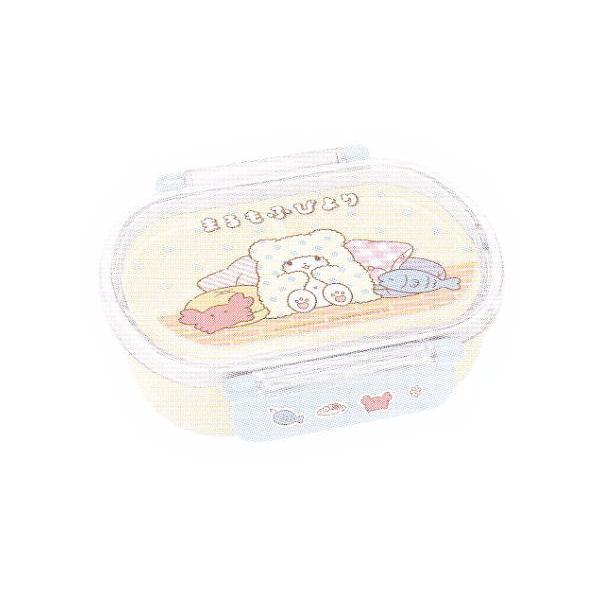 S397189 サンリオ タイトランチボックス小判 まるもふびより  まるもふ  こぐま  白いこぐま  キャラクター  お弁当