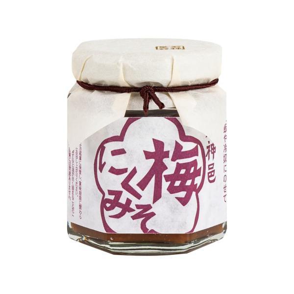日本の食べる調味料 梅にくみそ 80g 食べる梅干し 調味料 ごはん 石神 梅干 梅 食べる調味料