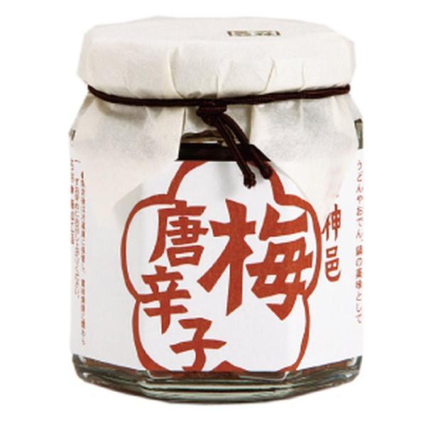 日本の食べる調味料 梅唐辛子 80g とうがらし うめぼし 梅あぶら 食べる梅干し 調味料 ごはん 石神 梅干 梅