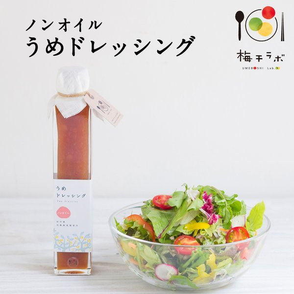 梅干ラボ うめドレッシング 200ml 調味料 ドレッシング サラダ