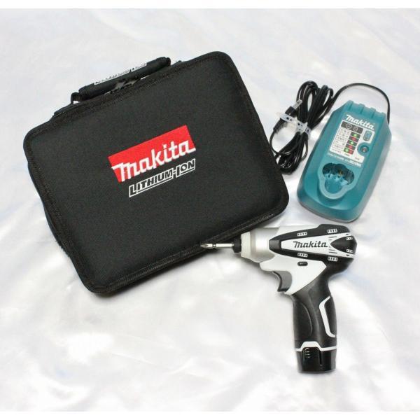 makitaマキタ充電式インパクトドライバ10.8VTD090DWSPW