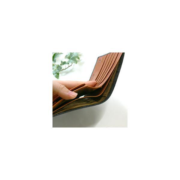 財布 メンズ 二つ折り 本革 ブライドルレザー 名入れ無料 ギフト プレゼント ラッピング 送料無料|ishikawatrunk|04