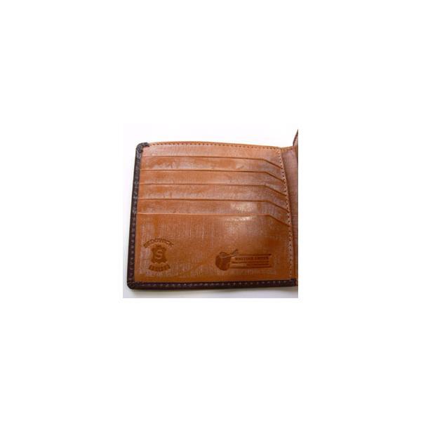 財布 メンズ 二つ折り 本革 ブライドルレザー 名入れ無料 ギフト プレゼント ラッピング 送料無料|ishikawatrunk|05