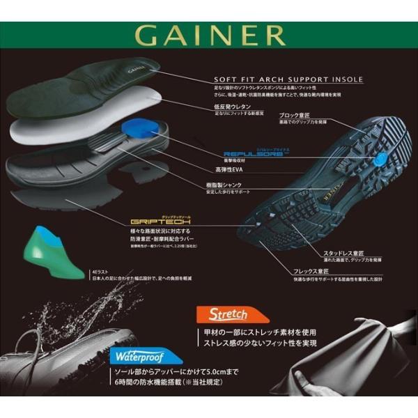 ゲイナー 001 メンズ カジュアル ウォーキング|ishikirishoes|04