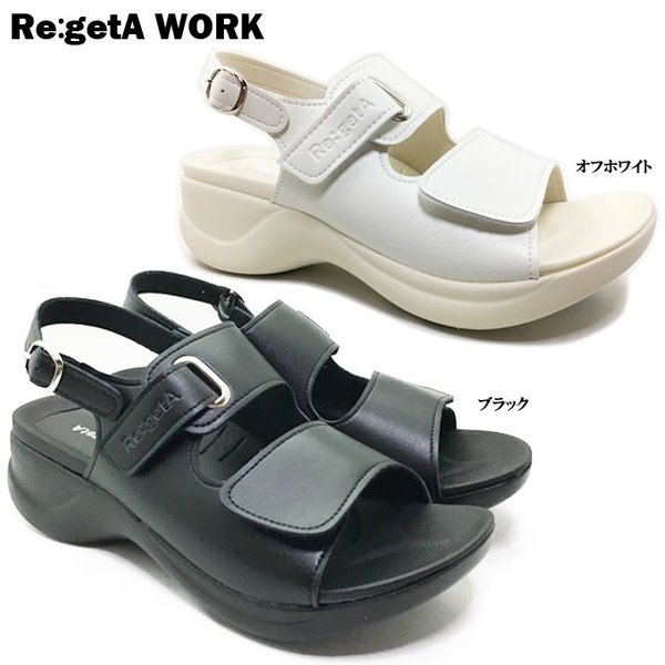 Re:getA Work RW-1001 リゲッタワーク レディース サンダル|ishikirishoes