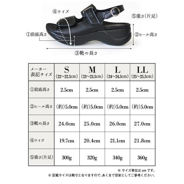 Re:getA Work RW-1001 リゲッタワーク レディース サンダル|ishikirishoes|04