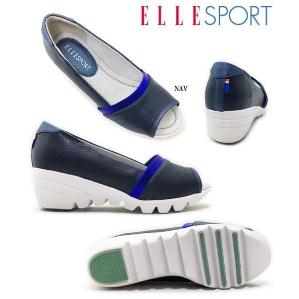 ELLE SPORT/ESP11539 エル・スポーツ レディース パンプス