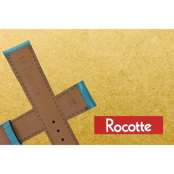 時計 ベルト 腕時計ベルト バンド 粋 雅 牛革 日本製 ロコッテ rocotte 12mm14mm 16mm 18mm|ishikuni-shoten|04