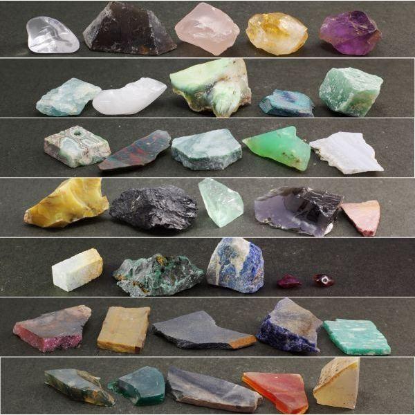 天然石35種類 標本詰め合わせ|ishino-hana|02