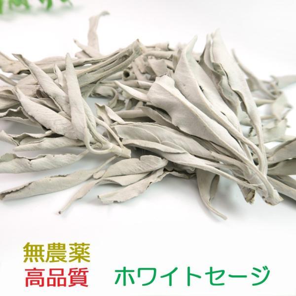 高品質ホワイトセージ 無農薬 18グラム入り ishino-kura