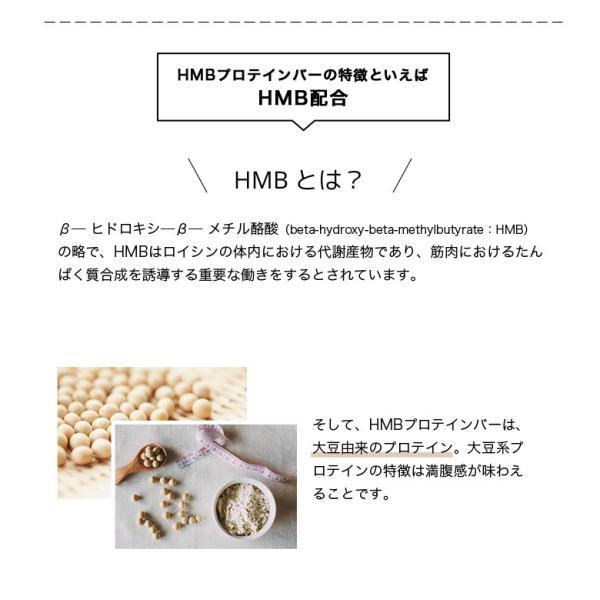 HMB プロテイン バー チョコ味 HMB Ca 1,000mg 食物繊維 1箱12本入り ISDG 医食同源 ドットコム 直販 送料無料  |ishokudogen-store|07