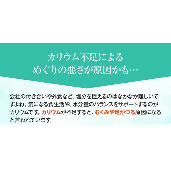 《管理栄養士監修》 ミネラルサポート サプリ カリウム 90粒 30日分|ishokudogen-store|03