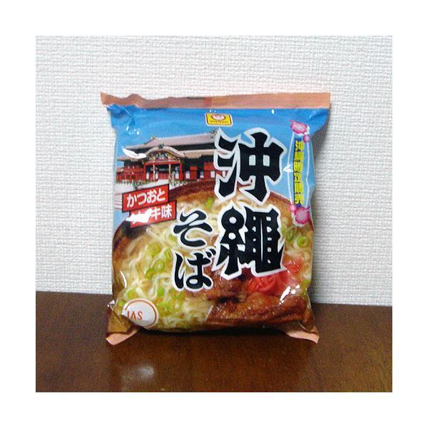 沖縄限定販売 沖縄そば(かつおとソーキ味)袋