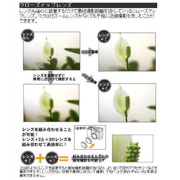 凡庸 カメラ用 クローズアップレンズ (+2)(フィルター径:77mm)