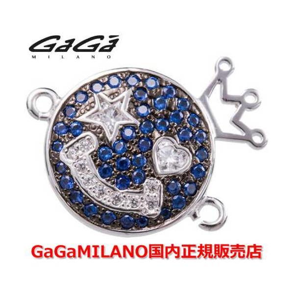 国内正規品 売れ筋 GaGa MILANO/ガガミラノ Men's Ladies/メンズ レディース HBブレス/紐ブレスレット SMILE/スマイルモデル WG/BLU