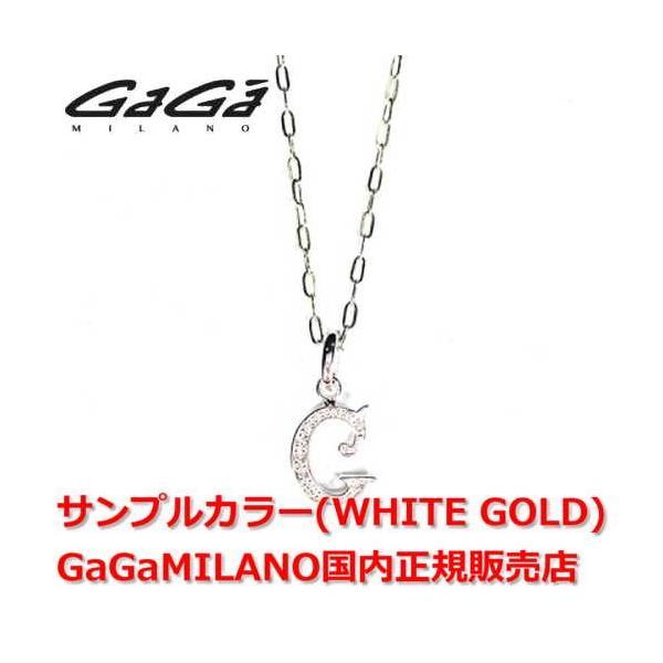 新作 国内正規品 売れ筋 GaGa MILANO/ガガミラノ Men's Ladies/メンズ レディース INITIAL G NECKLACE/イニシャルGネックレス NC-INI-G イニシャ