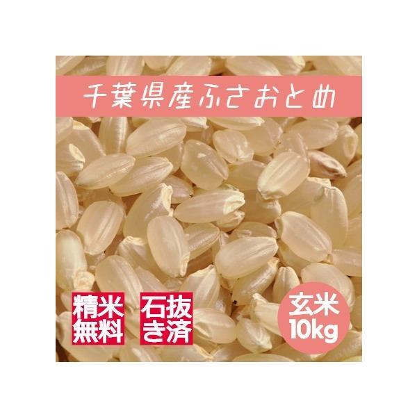 新米 米 玄米 10kg ふさおとめ 令和3年産 本州四国 送料無料 綺麗仕上 精米無料 紙袋