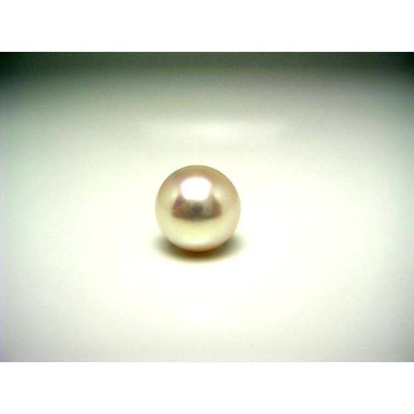 真珠 パール  オーロラ・花珠 アコヤ 真珠 ルース 10.3mm ホワイトピンク 56782 pearl 真珠 パール