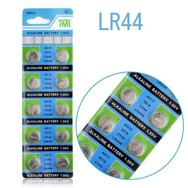 ボタン電池 LR44/1.55V 100個