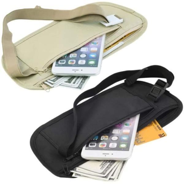 盗難防止 バッグ トラベルポーチ 海外旅行 防犯グッズ シークレットポーチ インナーポーチ セキュリティ スキミング防止 パスポートケース