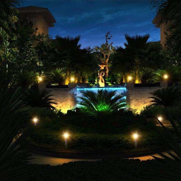送料無料 ガーデンライト 2LEDセット ソーラーライト 屋外 スポットライト 水中ライト LED 防水 2LEDセット 防犯|isozaki-store|05