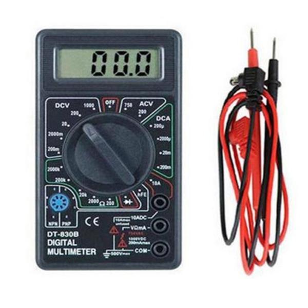送料240円 小型 デジタルテスター 電流 電圧 抵抗 計測 電圧/電流測定器 モール内ランキング1位獲得