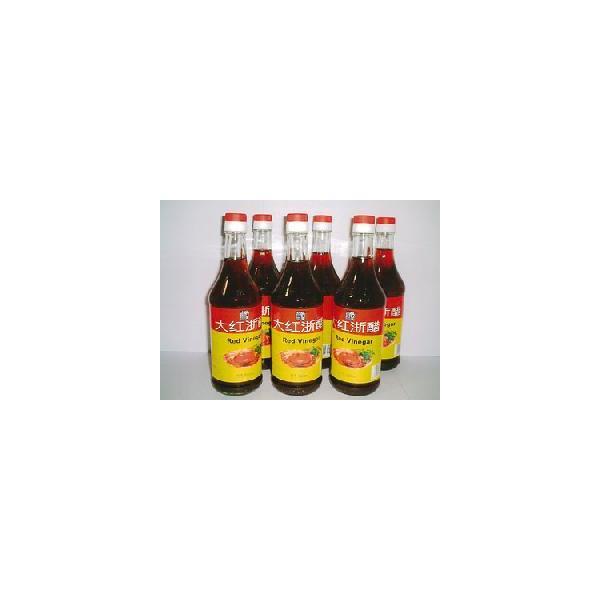 赤酢紅酢「大紅浙醋(大紅酢・だいこうす)」500ml  6本入(本体価格4,560円)|ispecial