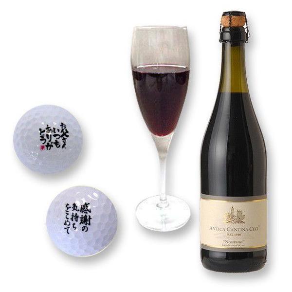 スパークリングワイン ランブルスコ ゴルフボール2個 (本体価格4,300円)|ispecial