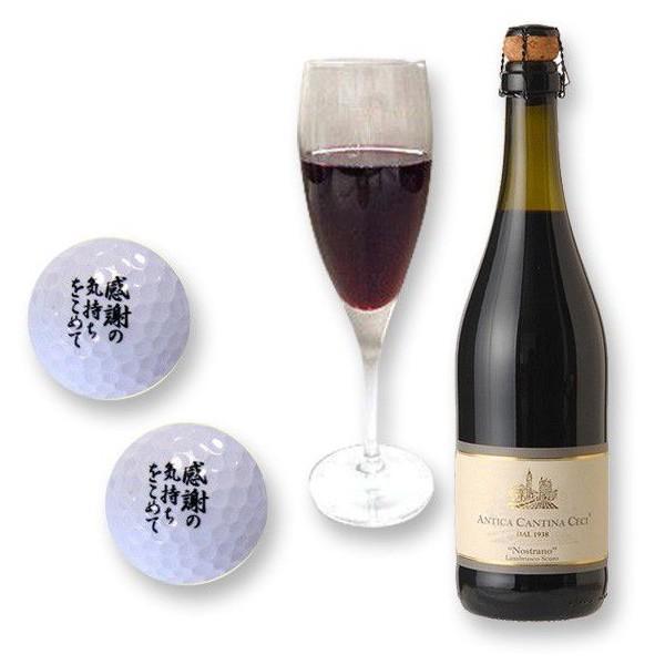 スパークリングワイン ランブルスコ ゴルフボール2個 (本体価格4,300円)|ispecial|05