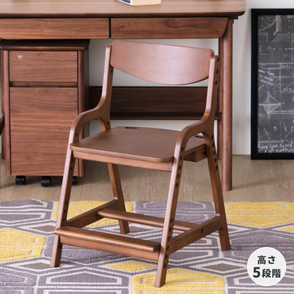 木製椅子 学習チェア リビング学習 組立 AIRY ISSEIKI