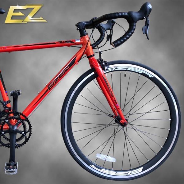 ロードバイク 700C シマノ14段変速 エアロホイール 40mm エントリーモデル 自転車本体 通勤 通学に最適 700CX23C EIZER RB200 isshoudou 12
