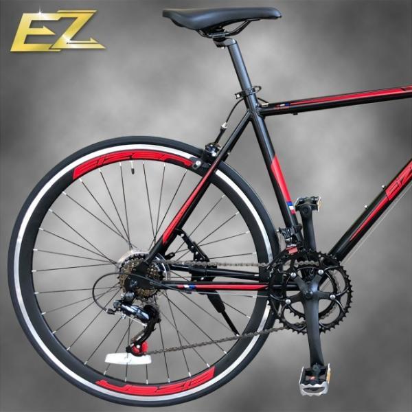 ロードバイク 700C シマノ14段変速 エアロホイール 40mm エントリーモデル 自転車本体 通勤 通学に最適 700CX23C EIZER RB200 isshoudou 13